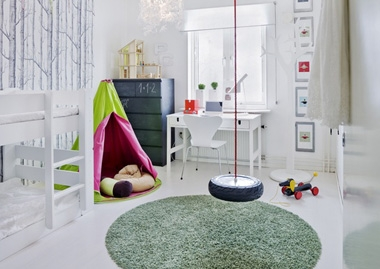 Schommel In Huis : Binnen schommelen! thuis lievekeet