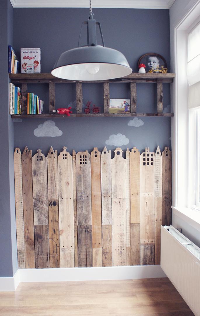 is ook doorgedrongen tot de kinderkamers leuke huisjes van hout ...