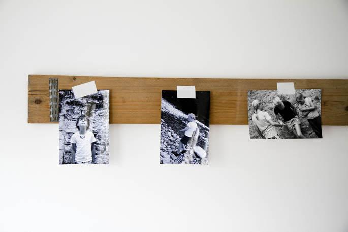 Steigerhouten planken in de kinderkamer