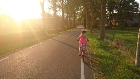 Leer hoe jij je kind veilig kunt laten fietsen