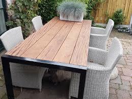 Hoe houd je je houten tuinmeubelen mooi?