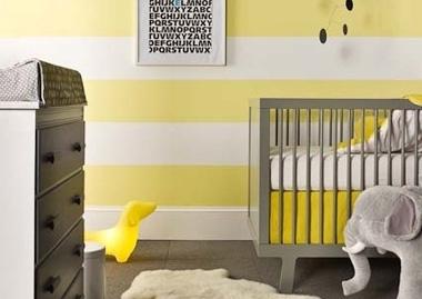 Gordijnen Babykamer Geel : Babykamer geel grijs ~ referenties op huis ontwerp interieur